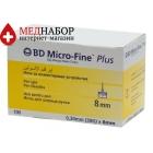 Иглы для шприц-ручек Микрофайн (Microfine) 8mm (100 шт)