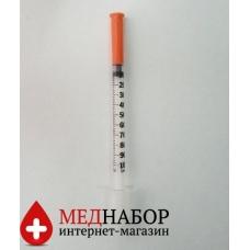 Шприцы инсулиновые Микрофайн (BD Micro-Fine) 1мл*8мм, 10шт